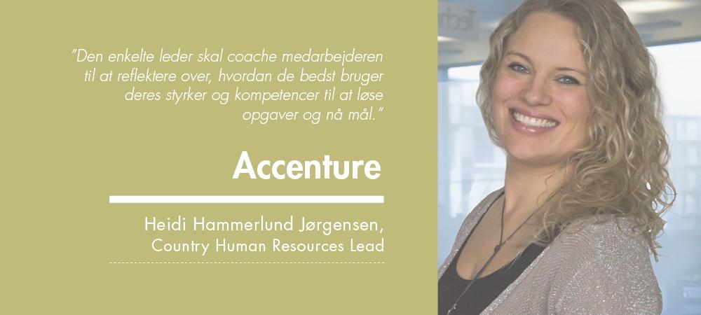 Heidi hammerlund, Accenture