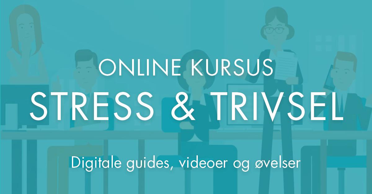 Online kursus stress og trivsel