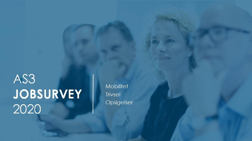 AS3 Jobsurvey 2020: Ny undersøgelse stiller skarpt på danskernes arbejdsliv
