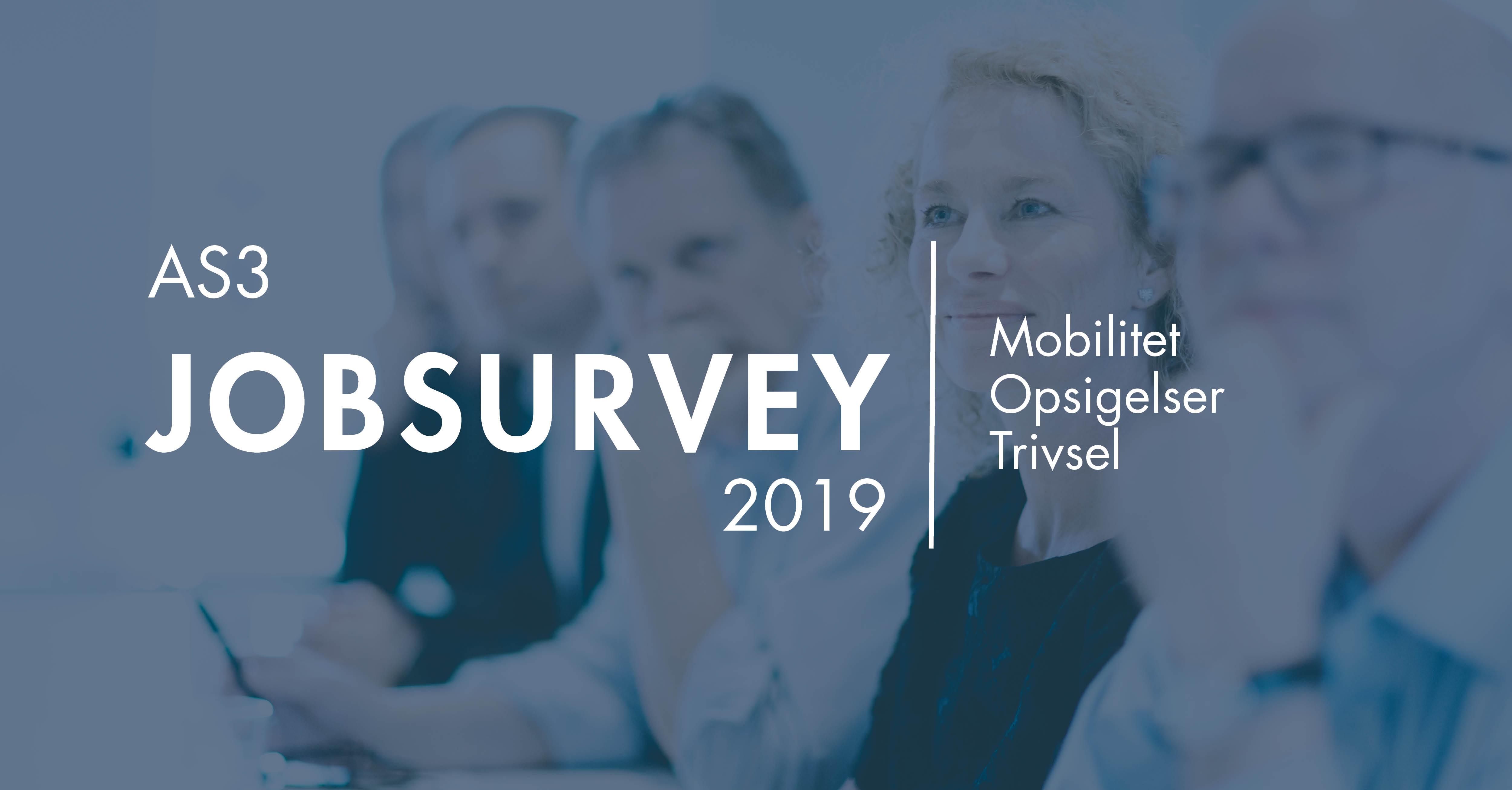 AS3 Jobsurvey 2019: Ny undersøgelse stiller skarpt på danskernes arbejdsliv